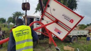 Supply and installation of 104 solar street lights in RHINO REFUGEE CAMP, ARUA DISTRICT, WEST NILE Uganda