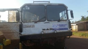 Transportation and Delivery of 11 Excavators and 1 (20 FT) container from Bunia to Kisangani Port in Easrtern D.R.CONGO